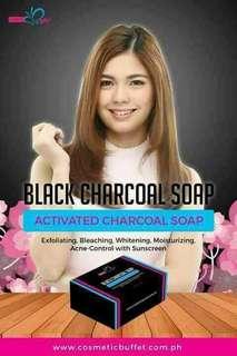 Black charcoal soap 135g