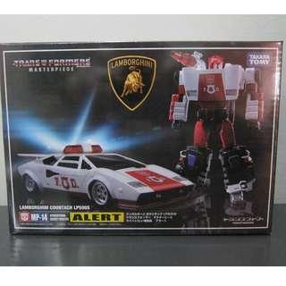 Transformers Masterpiece MP-14 Red Alert Lamborghini Takara NEW