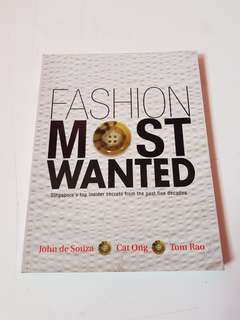 Fashion Most Wanted Book