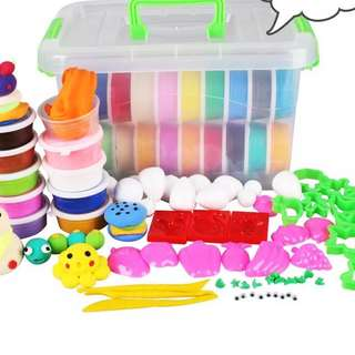 48colours clay set with mould