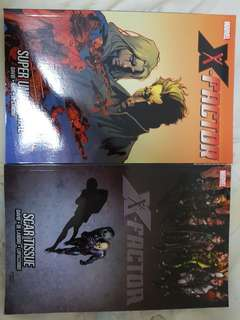 X-factor TPB issues12 and 14
