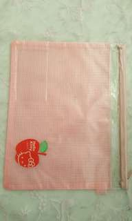 Hello Kitty A4 Zipper Bag