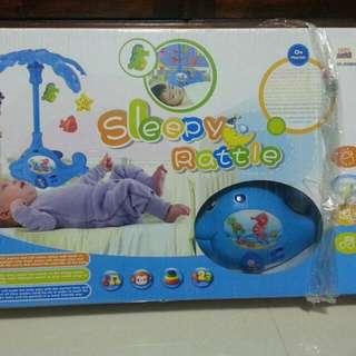 Baby Musical Sleepy Rattle
