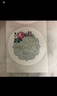 20pcs Mother's Day Stickers