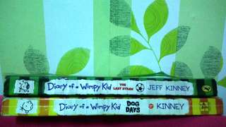 Diady of a Wimpy Kid ( Dog Days and The Last Straw )