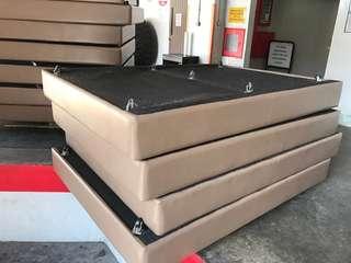 Used pvc Bed frame 200 x 150cm