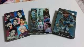 BTS & GOT7 Lomo cards