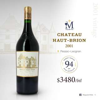 Haut Brion 2001 750ml