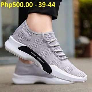 Rubber shoes for men