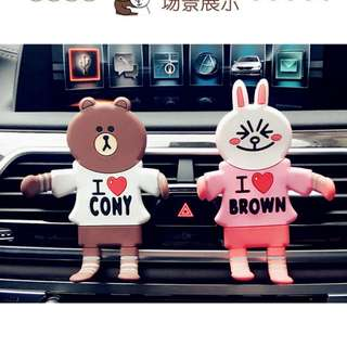 Cony brown car phone holder stand line character