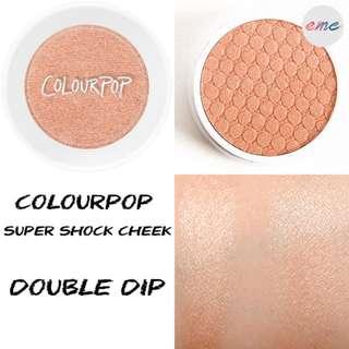 BN Colourpop Super Shock Cheek Double Dip - Bronzer Highlighter