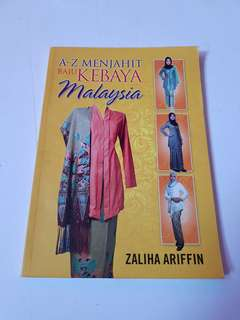 A-Z Menjahit Baju Kebaya Malaysia Book