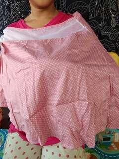 Nursing cover/apron menyusuu