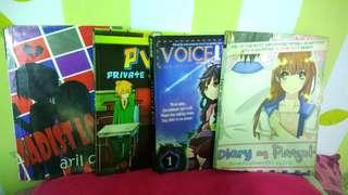 Wattpad Books (50 each)