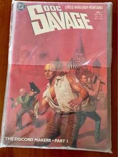 Doc Savage (DC Comics)- #1-5