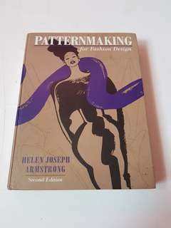 Pattern Making for Fashion Design Book
