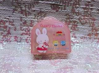Sanrio 1988 絕版罕有 Cheery Chums 小膠盒
