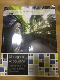 Managerial Accounting (Tenth Edition)