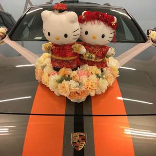 結婚用-心型車花(不包公仔)