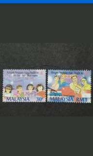 Malaysia 1993 16th Asian-Pacific Dental Congress Loose Set Short Of 30c & 50c - 2v Used Stamps