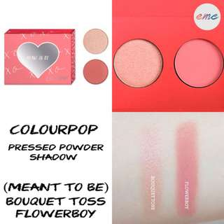 BN Colourpop Pressed Powder Shadow Eyeshadow Meant To Be
