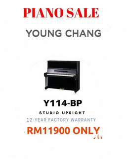 New 12yr Warranty Korea Young Chang Upright Piano