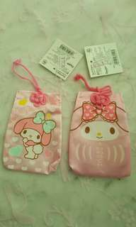 My Melody Luck Charm Pouches