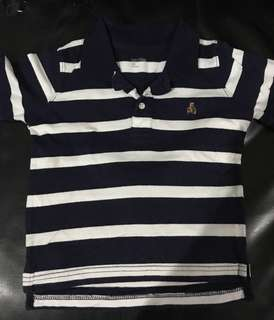 Baby Gap blue polo shirt for 3 Years old