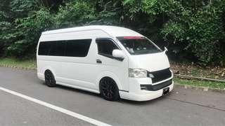 13 seater transport service