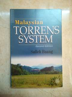 Malaysian Torrens System