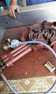 heavy duty stove burner
