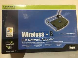 Linksys Wireless B USB-Network Adaptor (BNIB)