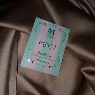 MIYU 3in1 Whitening Cleanser