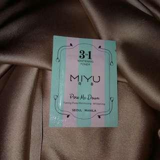 MIYU 3in1 Whitening Toner