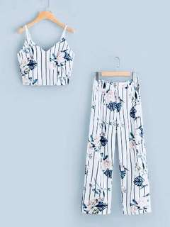 Floral Co-ord (White)