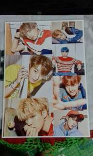 BTS A4 size Poster