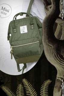 [Authentic] Anello Nylon Bag Pack - Mini Size