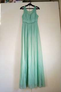 Gown (tifanny blue)