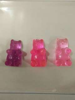Neon Colour Changing Gummy Bear Charm