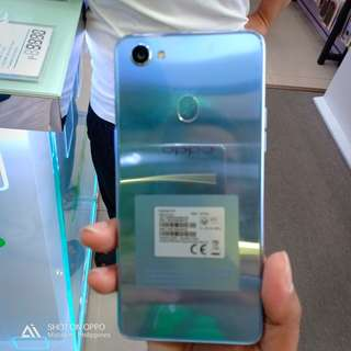 Oppo  F7 silver 2wiks old