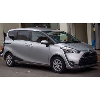 Toyota Sienta 1.5 AUTO BRAND NEW
