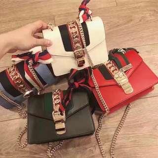 GUCCI Sylvie Mini Chain Bag
