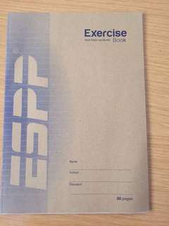 Exercise Book 8mm Single Line No.A80