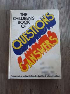 The children's book of Question n Answer