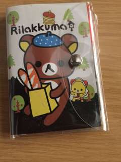Mini Rilakkuma Notebook