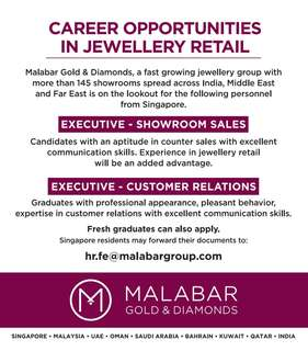 Showroom Sales & Customer Relations