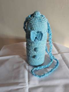 Crochet Water Bottle Carrier.