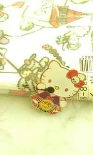 Hello Kitty Hard Rock Cafe Pin