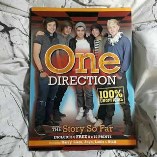 "One Direction ""The Story So Far"" Book"