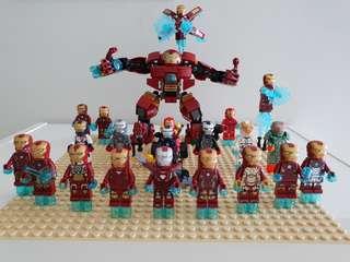 Lego ironman set ( infinity war)